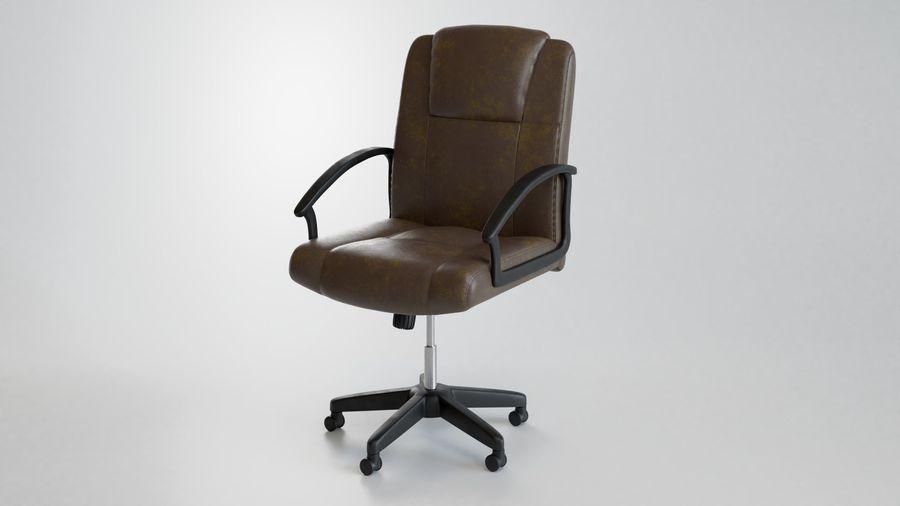 Krzesło Biurko royalty-free 3d model - Preview no. 3
