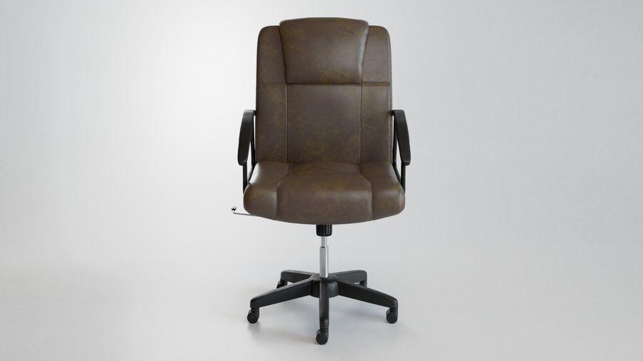 Krzesło Biurko royalty-free 3d model - Preview no. 2