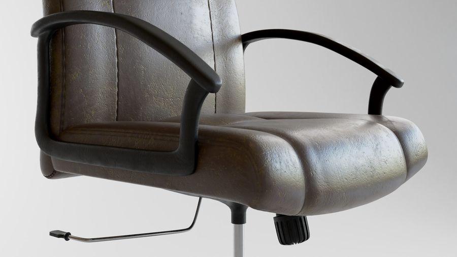 Krzesło Biurko royalty-free 3d model - Preview no. 5