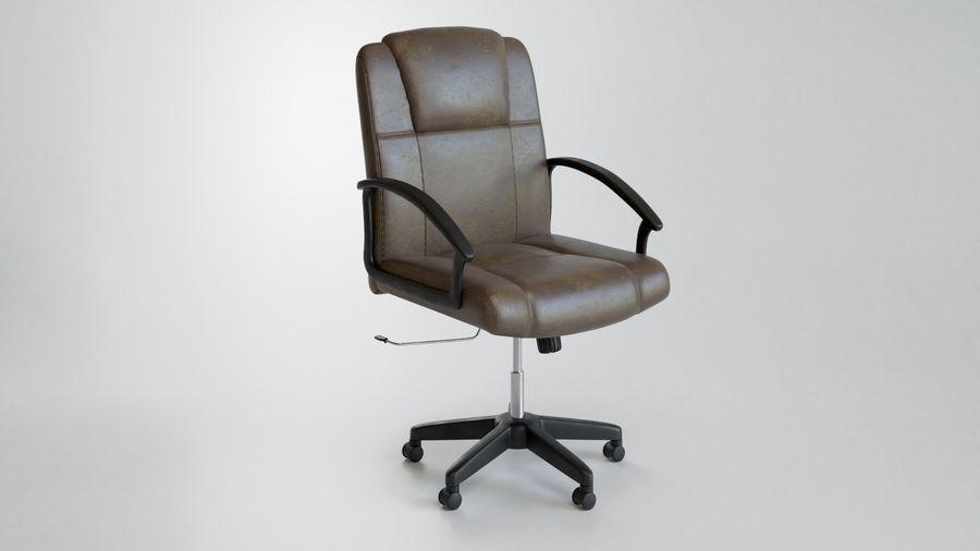 Krzesło Biurko royalty-free 3d model - Preview no. 1