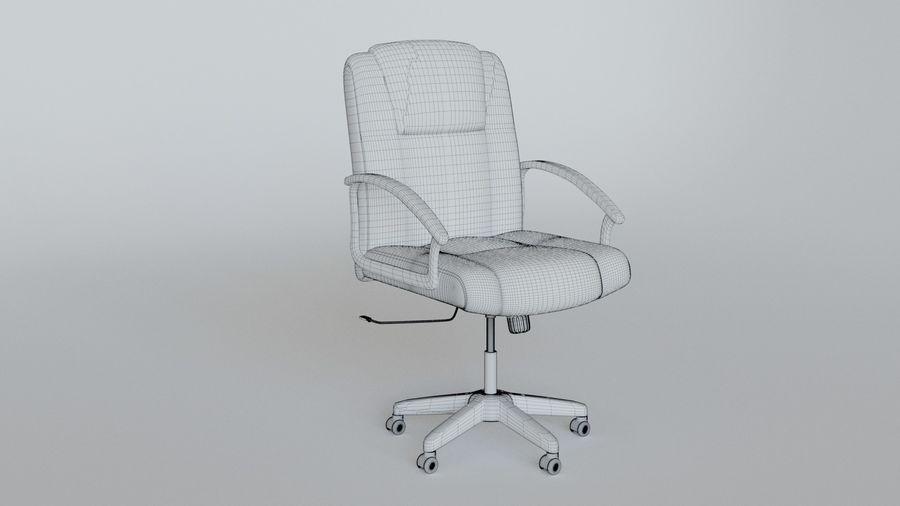 Krzesło Biurko royalty-free 3d model - Preview no. 6
