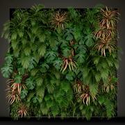 Plants collection 200 3d model