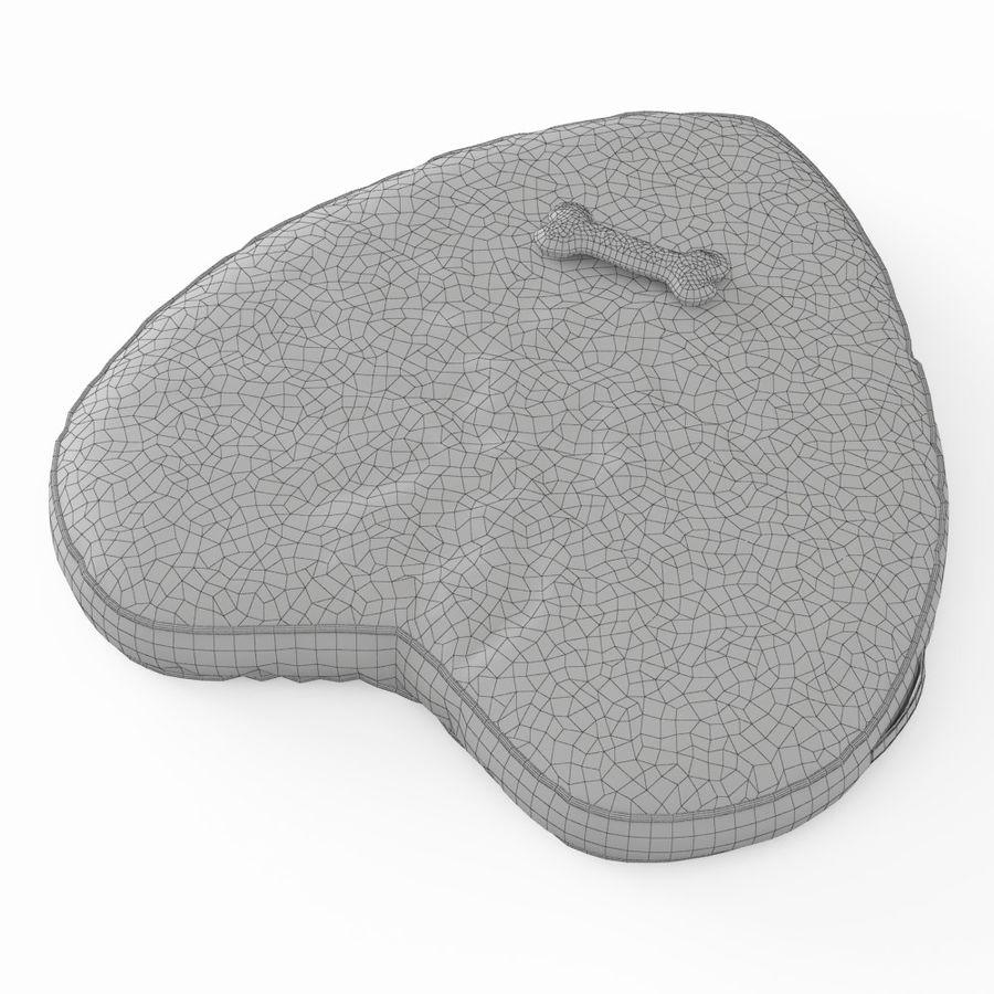 Letto per animali domestici Northfield Heart royalty-free 3d model - Preview no. 6