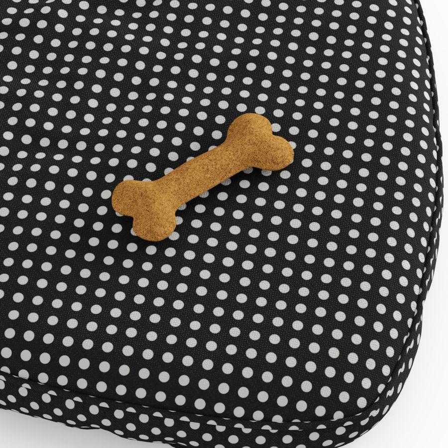 Letto per animali domestici Northfield Heart royalty-free 3d model - Preview no. 4