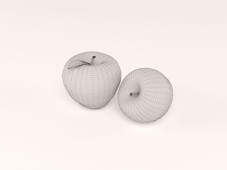 manzanas royalty-free modelo 3d - Preview no. 5