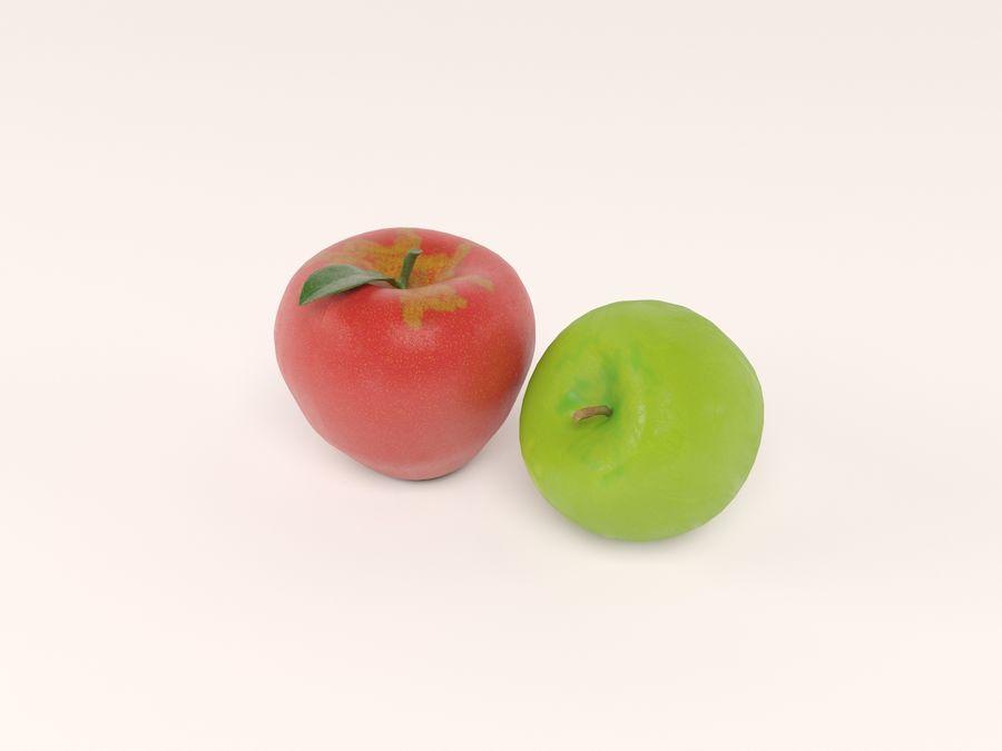 manzanas royalty-free modelo 3d - Preview no. 1