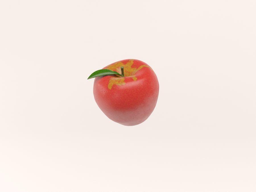 manzanas royalty-free modelo 3d - Preview no. 4