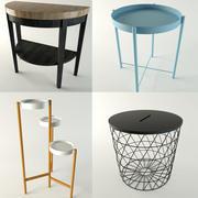 Tables IKEA 4 pièces 3d model