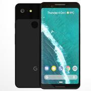 Google Pixel 3 modelo 3d