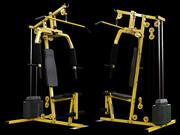 Stazione di bodybuilding 3d model