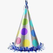 Chapeau de fête 02 3d model