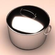 調理鍋 3d model