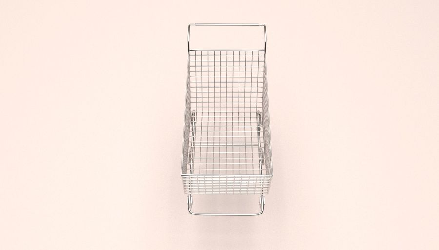 Shopping Cart royalty-free 3d model - Preview no. 6
