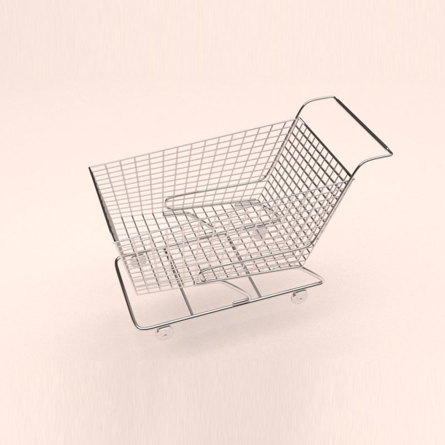 Shopping Cart royalty-free 3d model - Preview no. 1