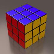 Cube professionnel 3d model