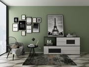 Conjunto de muebles 7 modelo 3d
