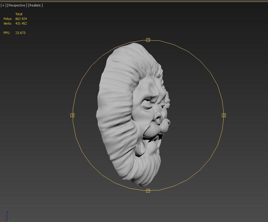 建築要素はレオです。デコレーション royalty-free 3d model - Preview no. 4