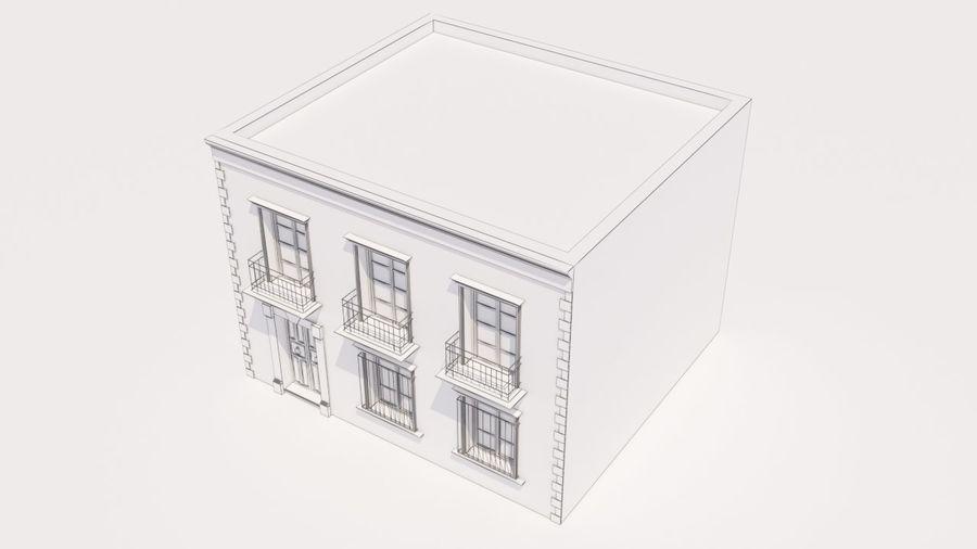 Mexikanska hus stad royalty-free 3d model - Preview no. 12