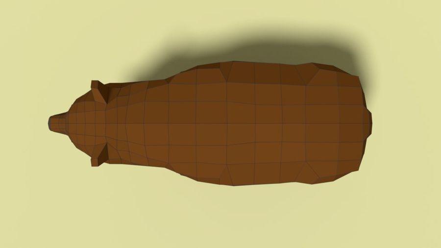 Pakiet zwierząt leśnych Low Poly royalty-free 3d model - Preview no. 7