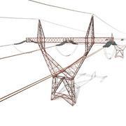Poste de electricidad 22 resistido modelo 3d