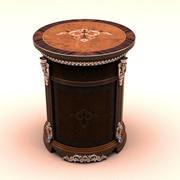 Luksusowy stolik 3d model