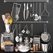 Mutfak için ıvır zıvır şeyler 5 3d model