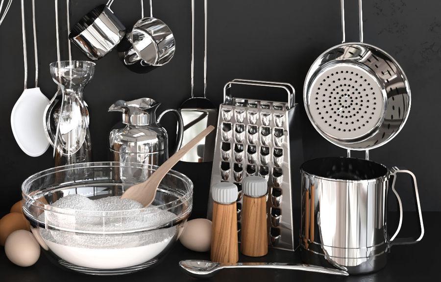 Trivia voor de keuken 5 royalty-free 3d model - Preview no. 3