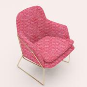 Каркасное кресло 3d model