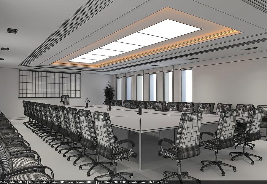 회의실 royalty-free 3d model - Preview no. 3