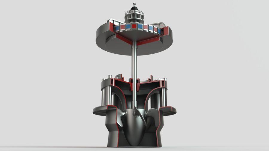水力発電所 royalty-free 3d model - Preview no. 7