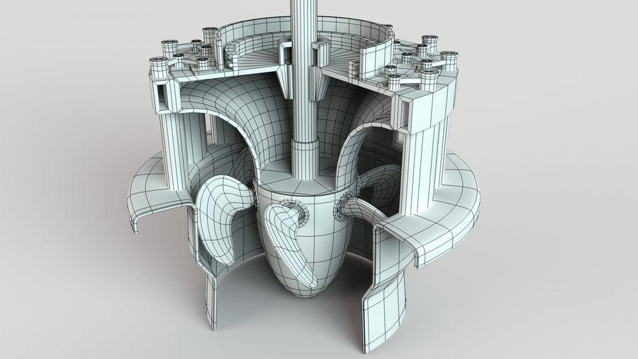 水力発電所 royalty-free 3d model - Preview no. 11