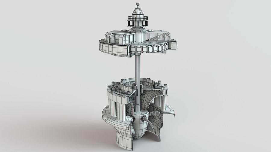 水力発電所 royalty-free 3d model - Preview no. 9
