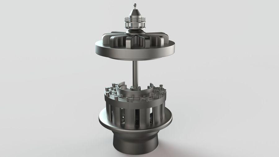 水力発電所 royalty-free 3d model - Preview no. 6