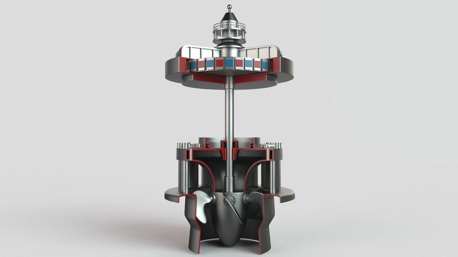 水力発電所 royalty-free 3d model - Preview no. 1