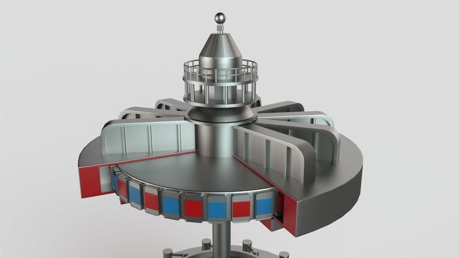 水力発電所 royalty-free 3d model - Preview no. 4
