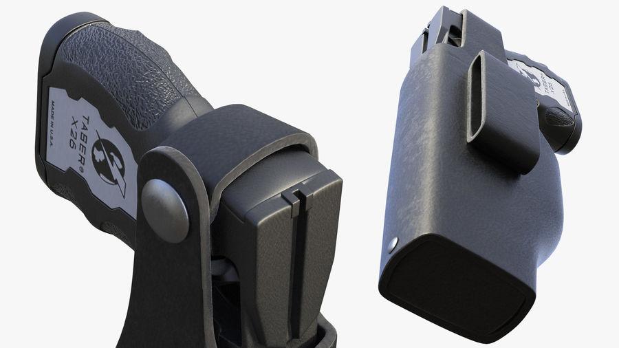 NYPD-polisens päls riggade royalty-free 3d model - Preview no. 16