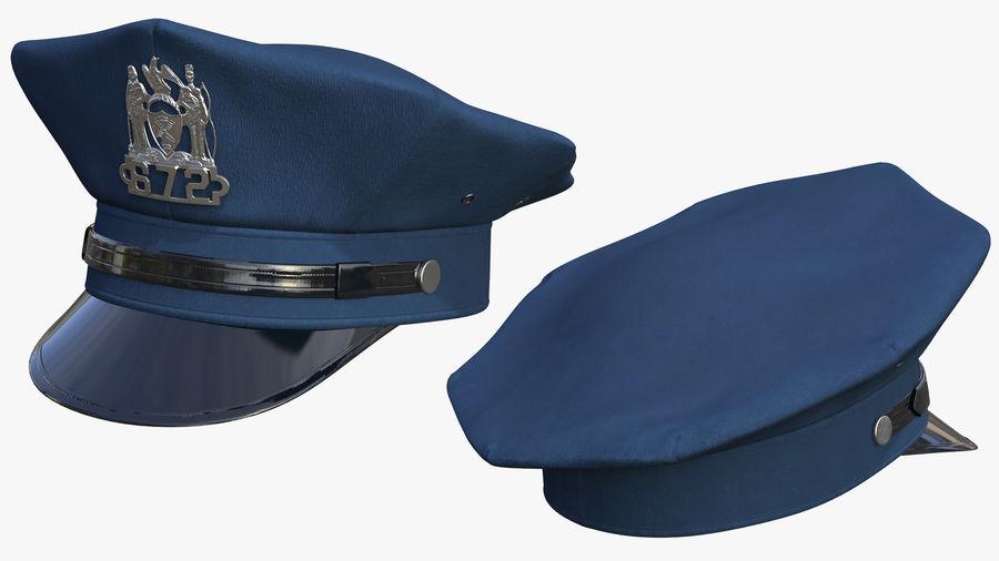 NYPD-polisens päls riggade royalty-free 3d model - Preview no. 9