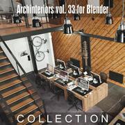 Archinteriors vol。ブレンダーの場合33 3d model