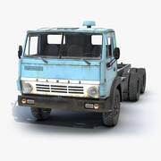 Kamaz 5320 Chassis 3d model