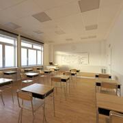 Школьный класс 3d model