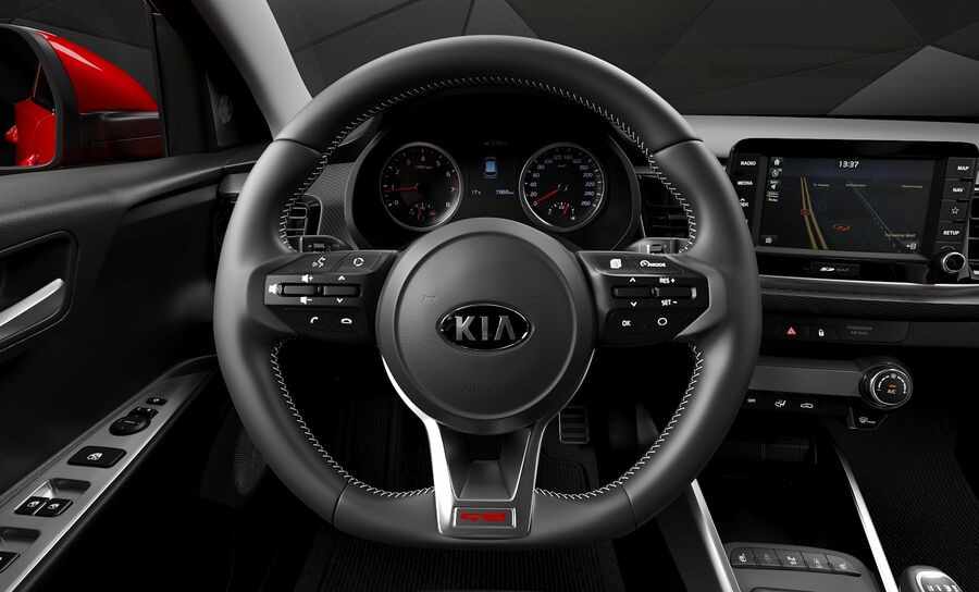 2019 Kia Rio royalty-free 3d model - Preview no. 14