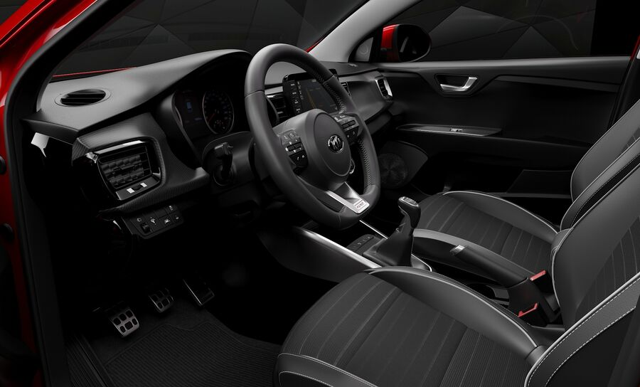 2019 Kia Rio royalty-free 3d model - Preview no. 10