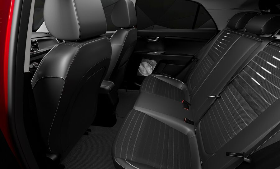 2019 Kia Rio royalty-free 3d model - Preview no. 15
