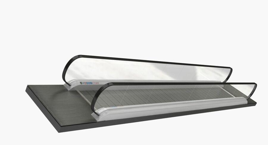 Coleção 6 de equipamentos para interiores de aeroportos royalty-free 3d model - Preview no. 51