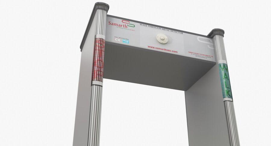 Coleção 6 de equipamentos para interiores de aeroportos royalty-free 3d model - Preview no. 20