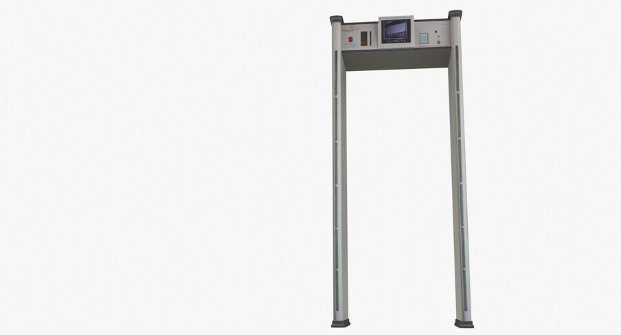 Coleção 6 de equipamentos para interiores de aeroportos royalty-free 3d model - Preview no. 21
