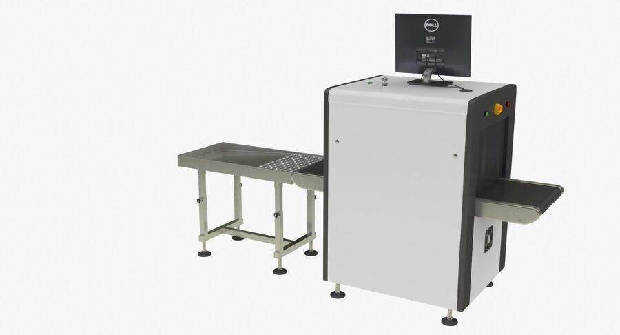Coleção 6 de equipamentos para interiores de aeroportos royalty-free 3d model - Preview no. 25
