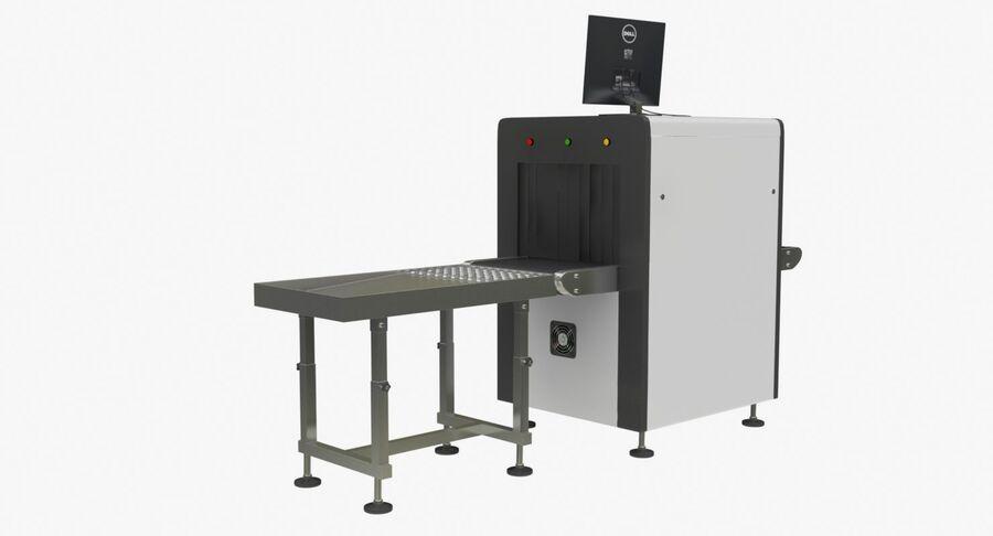Coleção 6 de equipamentos para interiores de aeroportos royalty-free 3d model - Preview no. 2