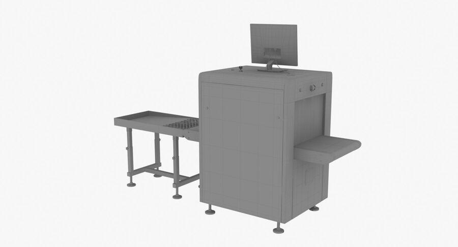 Coleção 6 de equipamentos para interiores de aeroportos royalty-free 3d model - Preview no. 33