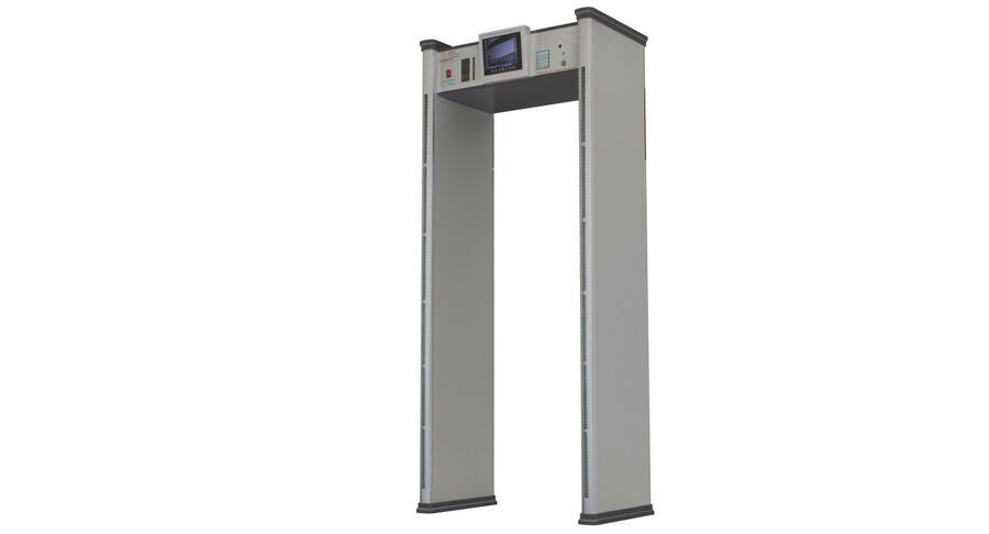 Coleção 6 de equipamentos para interiores de aeroportos royalty-free 3d model - Preview no. 19